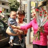 2014.5.10母親節派花